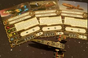Star Wars X-Wing - Scum HWK pilots