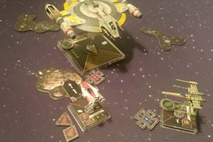 Star Wars X-Wing - Shadow Caster tractor beam