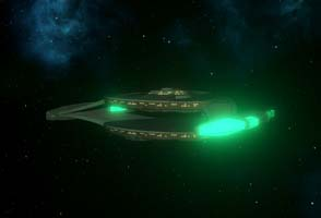 ST: New Horizons - early Romulan Cruiser