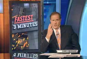 Chris Berman fastest 3 minutes in sports