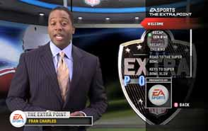 Madden 10 - Extra Point halftime show