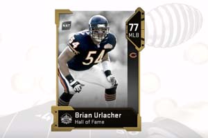 Madden 19 - Brian Urlacher Hall of Fame card