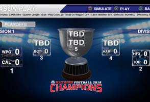 Maximum Football 2018 - playoff