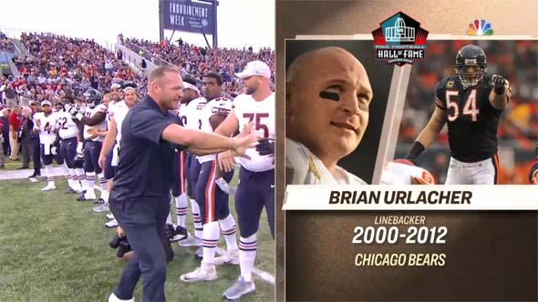Brian Urlacher Hall of Fame game