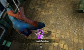 Amazing Spider-Man 2 - stealth takedown