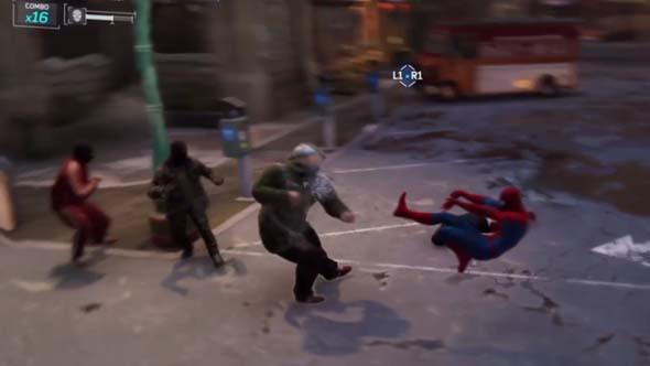 Spider-Man - combat