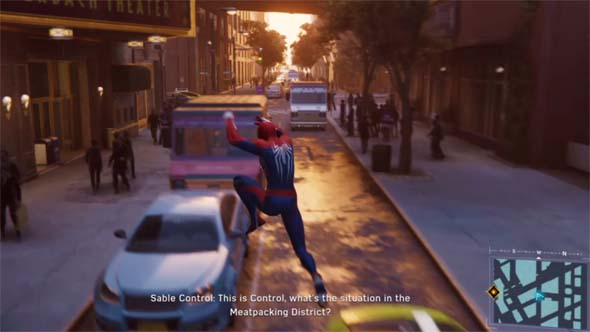 Marvel's Spider-Man - parkour