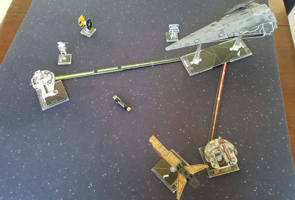 Star Wars X-Wing - Scum team-up