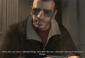 Grand Theft Auto IV - killing people
