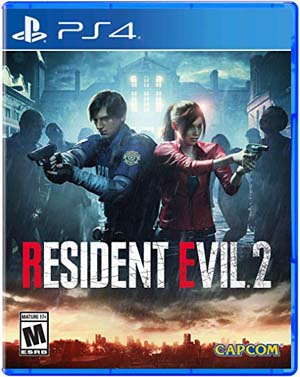Resident Evil 2 remake, PS4
