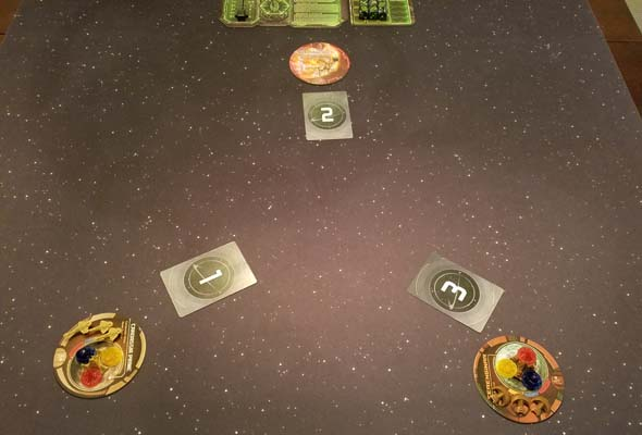 Star Trek: Ascendancy - Borg first turn