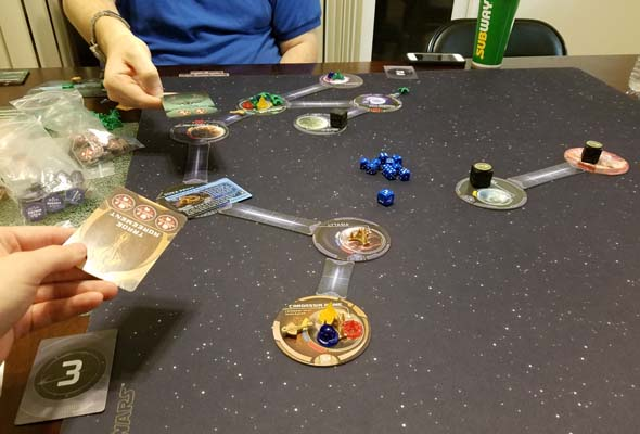 Star Trek: Ascendancy - cooperating against the Borg