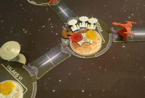 Star Trek: Ascendancy - Ferengi and Federation attacked