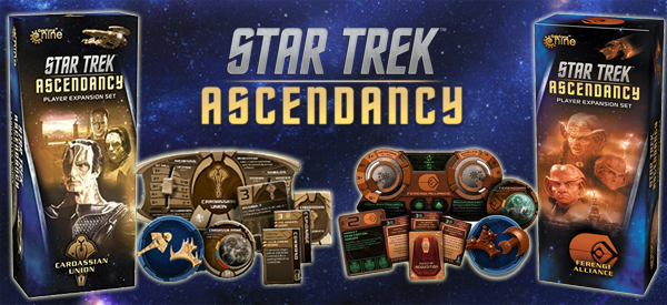 Star Trek Ascendancy - expansions
