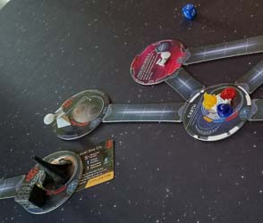 Star Trek: Ascendancy - cutting off Borg routes