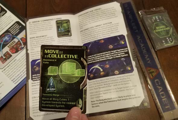 Star Trek: Ascendancy - Command Card