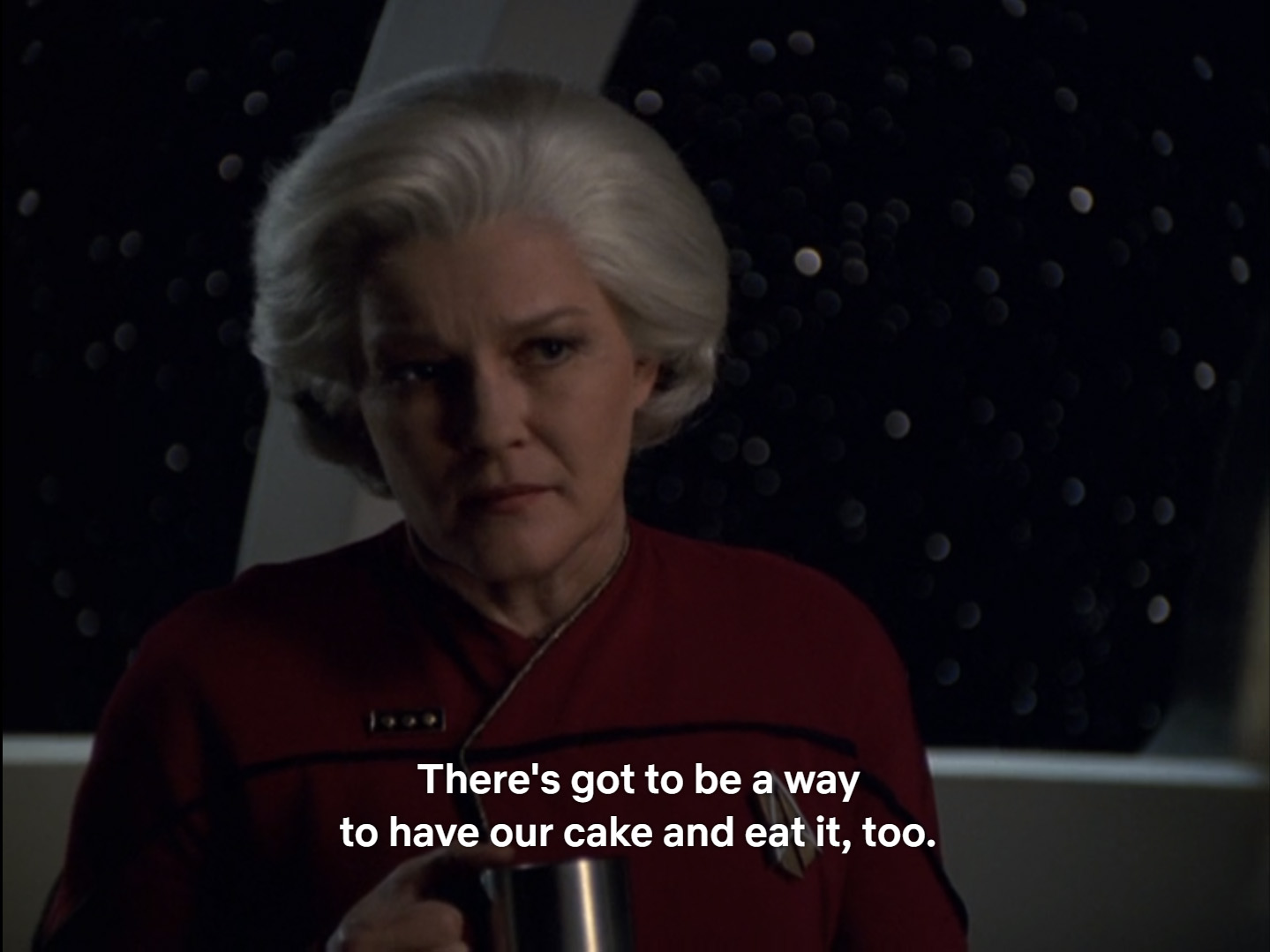 Star Trek: VOY - have our cake and eat it too