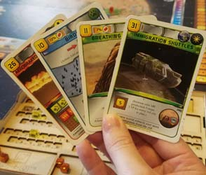 Terraforming Mars - late-game cards