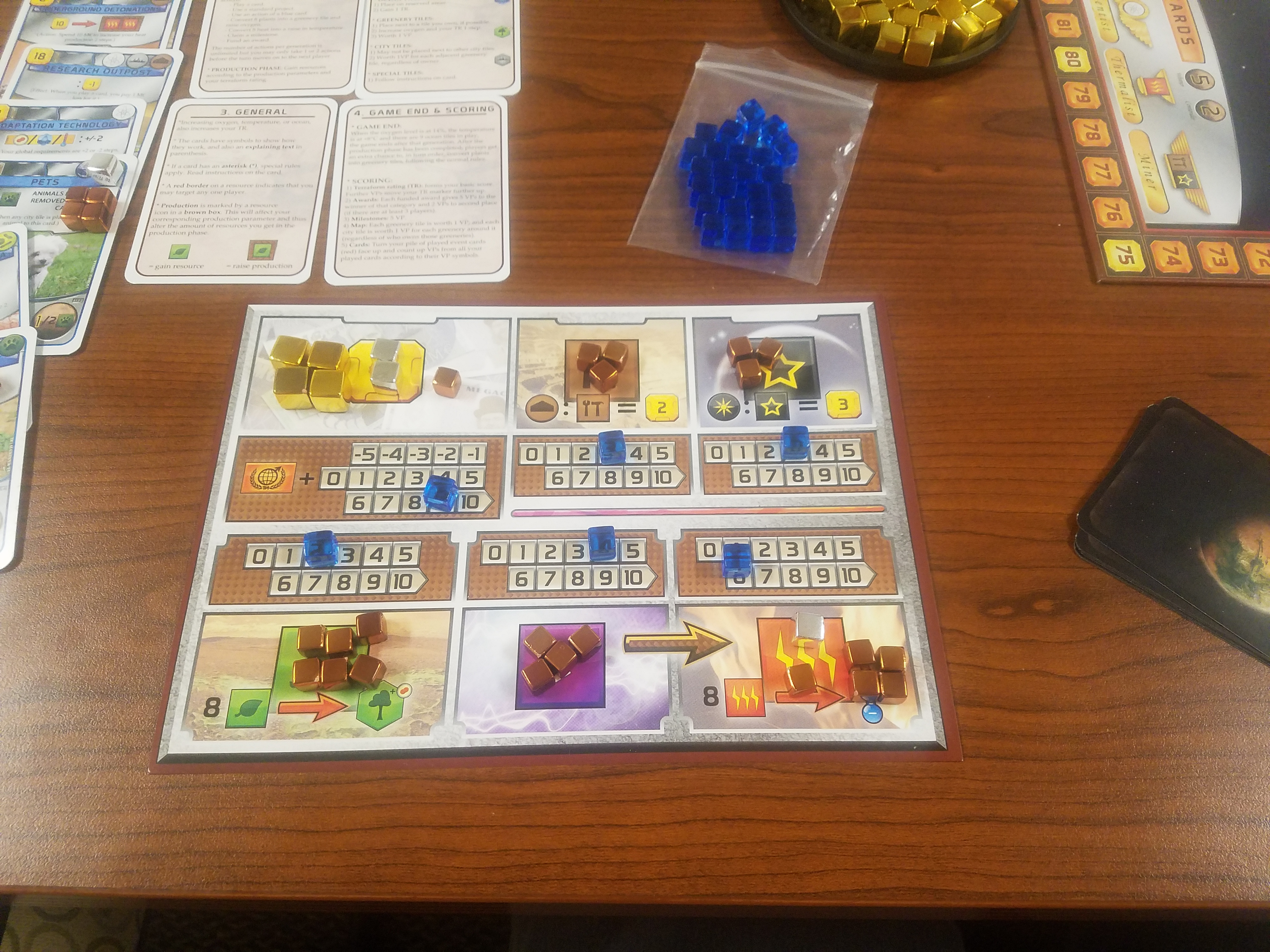 Terraforming Mars deserves a 2nd edition with components