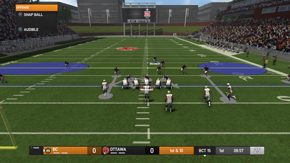 Maximum Football 19 - defensive play art