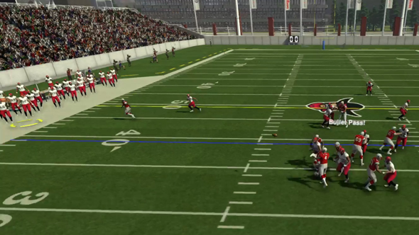 Maximum Football 19 - outside routes