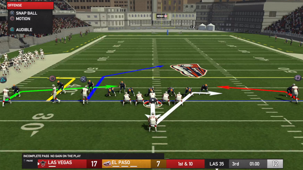Maximum Football 19 - short yardage defense