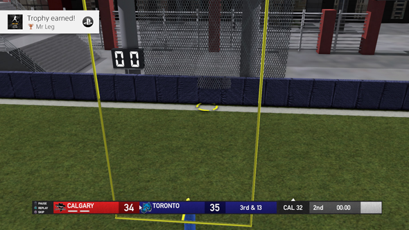 Maximum Football 19 - field goal