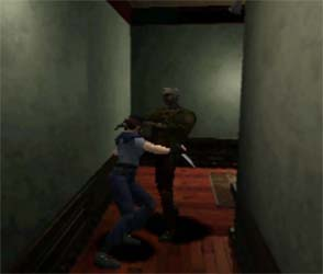 Resident Evil - knife fight