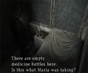 Silent Hill 2 - bottles of medicine