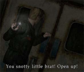 Silent Hill 2 - snotty nosed brat