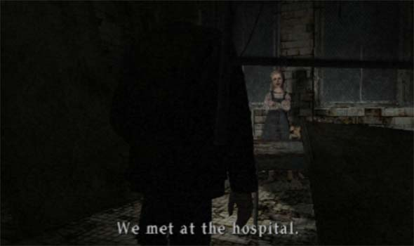 Silent Hill 2 - Laura met Mary in the hospital