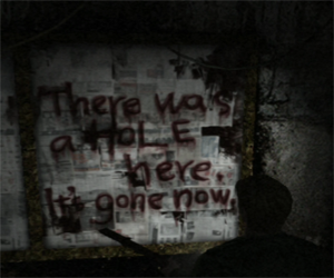 Silent Hill 2 - Bar Neely's die message