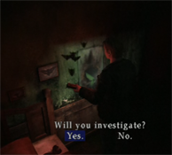 Silent Hill 2 - butterfly hole