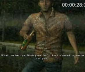 Silent Hill Shattered Memories - drunk Harry