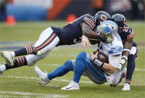Chicago Bears - sacking Driskel