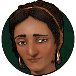 Civilization VI - Dido portrait