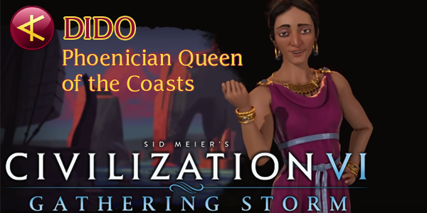 Civilization VI - Dido of Phoenicia