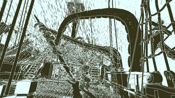 Return of the Obra Dinn - flashback