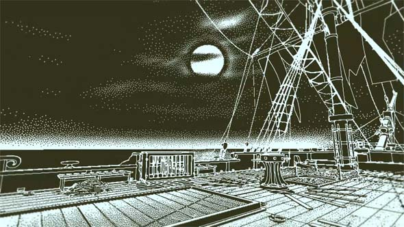 Return of the Obra Dinn - searching the ship