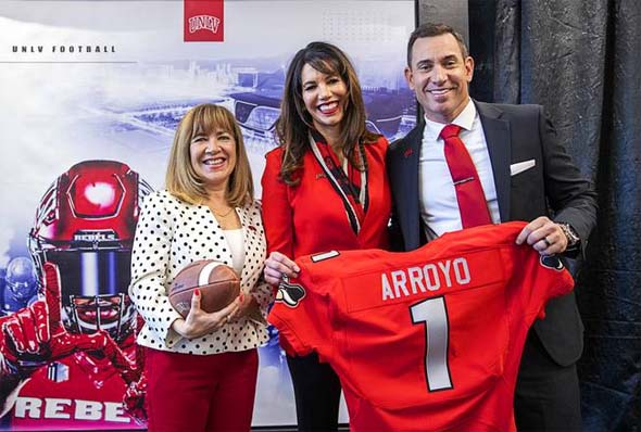 UNLV announces new head coach Marcus Arroyo
