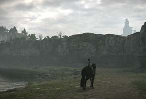 Shadow of the Colossus - environment