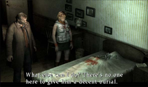 Silent Hill 3 - Harry's death