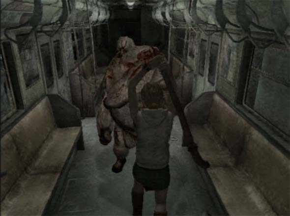 Silent Hill 3 - subway