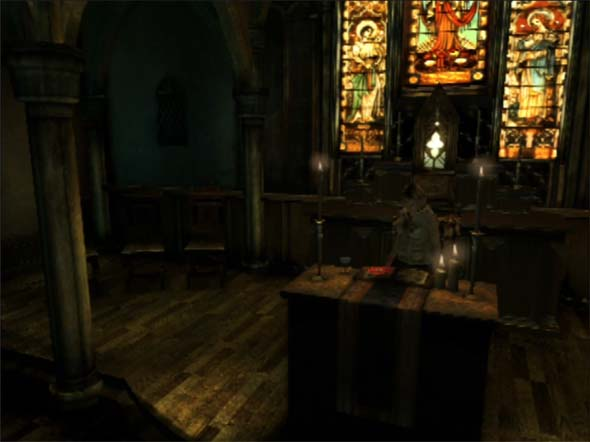 Silent Hill 3 - cult church