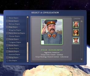 Civilization IV - Stalin