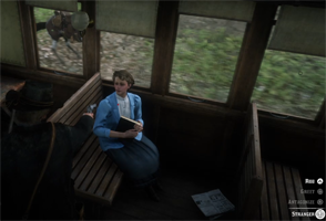 Red Dead Redemption II - robbing train