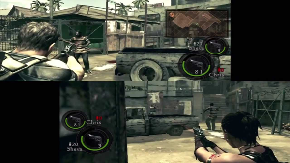 Resident Evil 5 - multiplayer