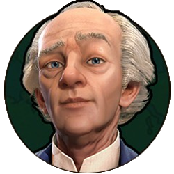 Civilization VI - Wilfrid Laurier portrait