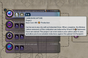 Civilization VI Gathering Storm - mitigation
