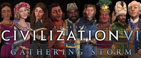 Civilization VI: Gathering Storm - title